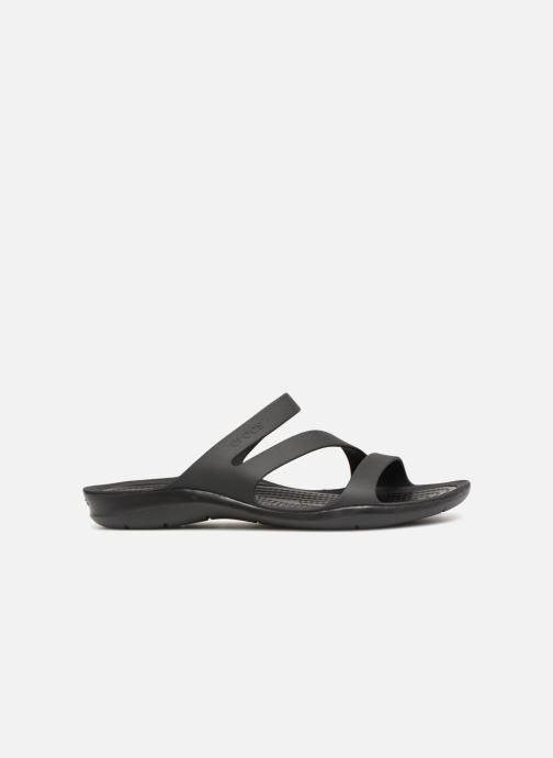 Zuecos Crocs Swiftwater Sandal W Negro vistra trasera