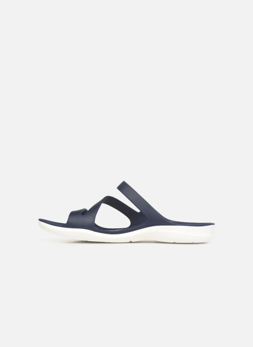 Wedges Crocs Swiftwater Sandal W Blauw voorkant