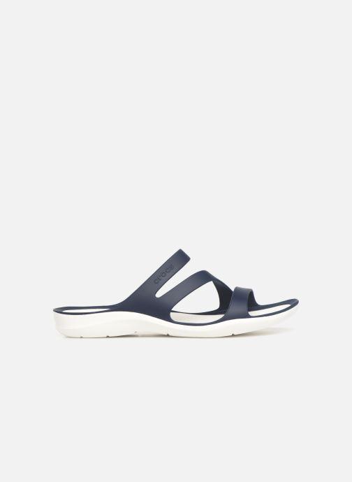 Mules et sabots Crocs Swiftwater Sandal W Bleu vue derrière