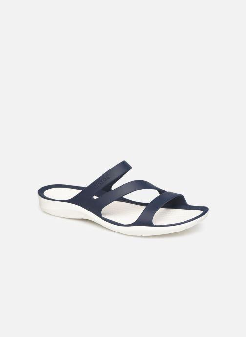 Wedges Crocs Swiftwater Sandal W Blauw detail