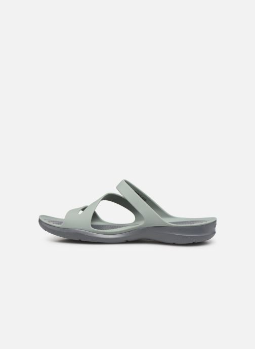 Wedges Crocs Swiftwater Sandal W Grijs voorkant