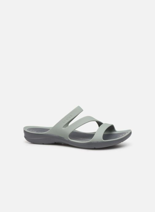 Wedges Crocs Swiftwater Sandal W Grijs achterkant