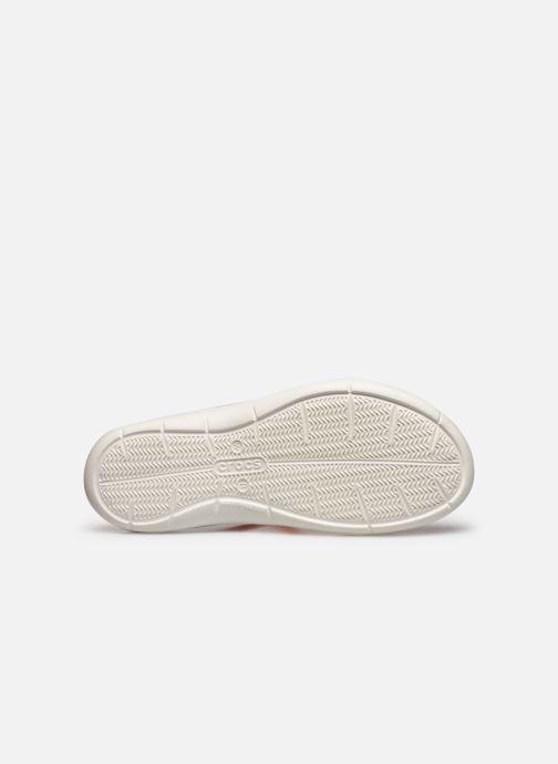 Zuecos Crocs Swiftwater Sandal W Naranja vista de arriba
