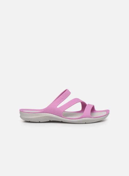 Zoccoli Crocs Swiftwater Sandal W Viola immagine posteriore