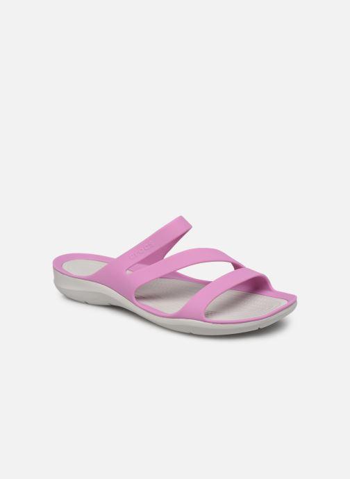 Mules et sabots Crocs Swiftwater Sandal W Violet vue détail/paire