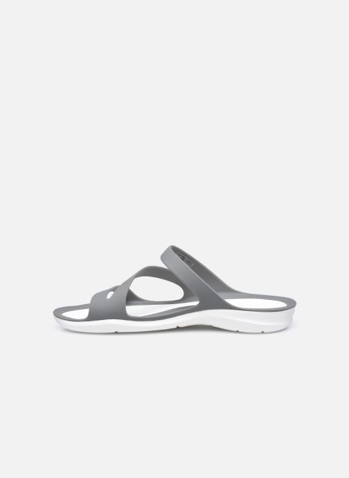 Clogs & Pantoletten Crocs Swiftwater Sandal W schwarz ansicht von vorne