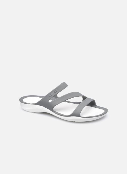 Clogs & Pantoletten Crocs Swiftwater Sandal W schwarz detaillierte ansicht/modell
