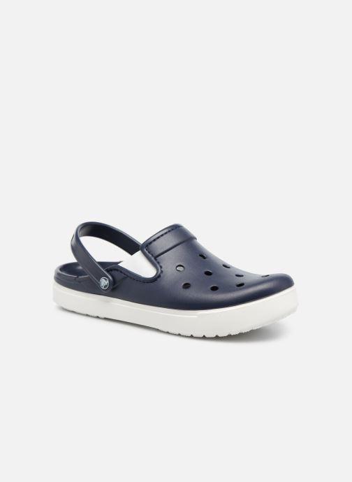 Sandales et nu-pieds Crocs CitiLane Clog Bleu vue détail/paire