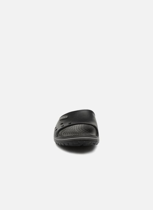 Sandales et nu-pieds Crocs Crocband II Slide Noir vue portées chaussures