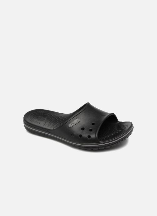 Sandales et nu-pieds Crocs Crocband II Slide Noir vue détail/paire