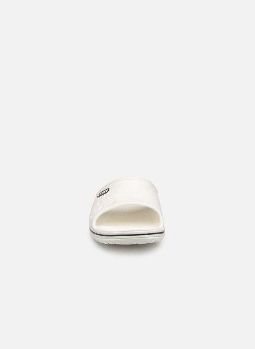 Sandals Crocs Crocband II Slide White model view