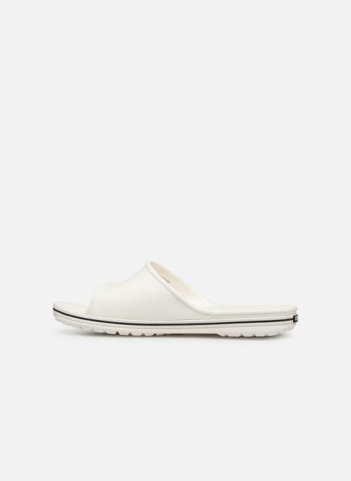 Sandales et nu-pieds Crocs Crocband II Slide Blanc vue face