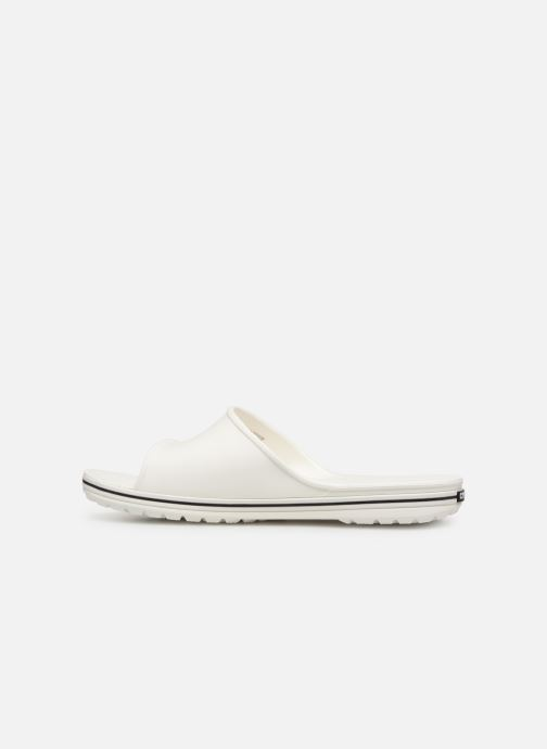 Sandals Crocs Crocband II Slide White front view