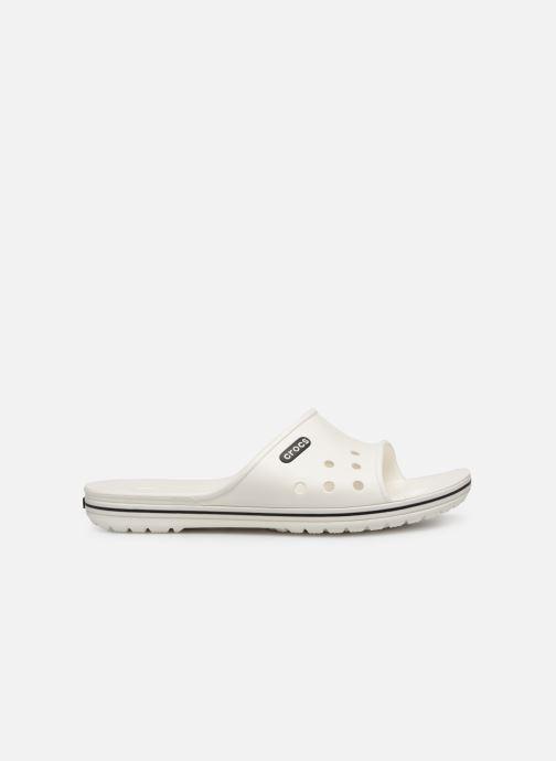 Sandales et nu-pieds Crocs Crocband II Slide Blanc vue derrière