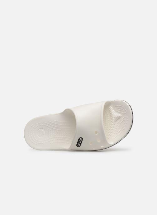 Sandales et nu-pieds Crocs Crocband II Slide Blanc vue gauche