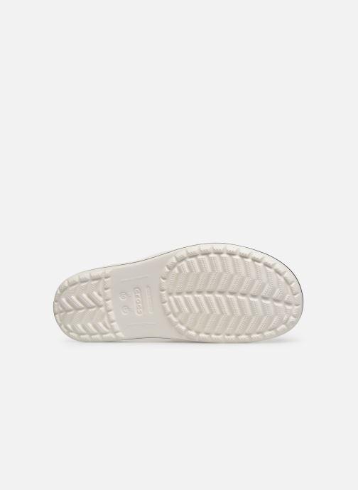 Sandales et nu-pieds Crocs Crocband II Slide Blanc vue haut