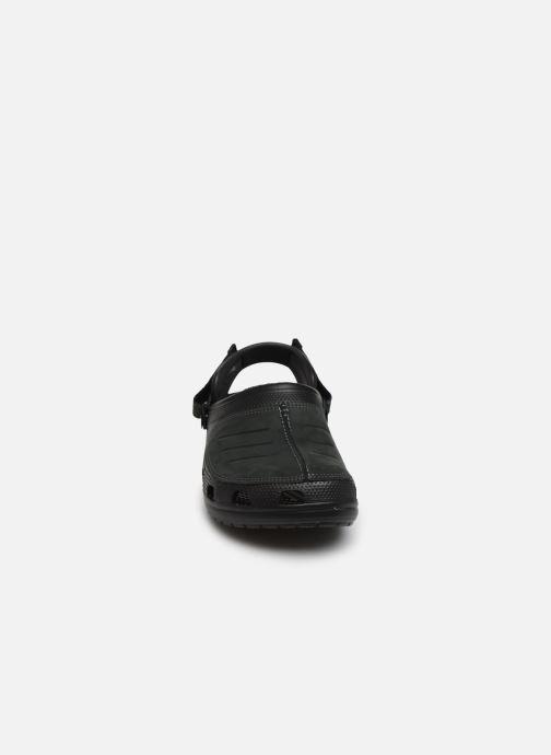 Sandalen Crocs Yukon Mesa Clog M schwarz schuhe getragen