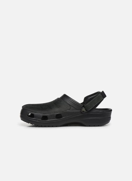 Sandals Crocs Yukon Mesa Clog M Black front view