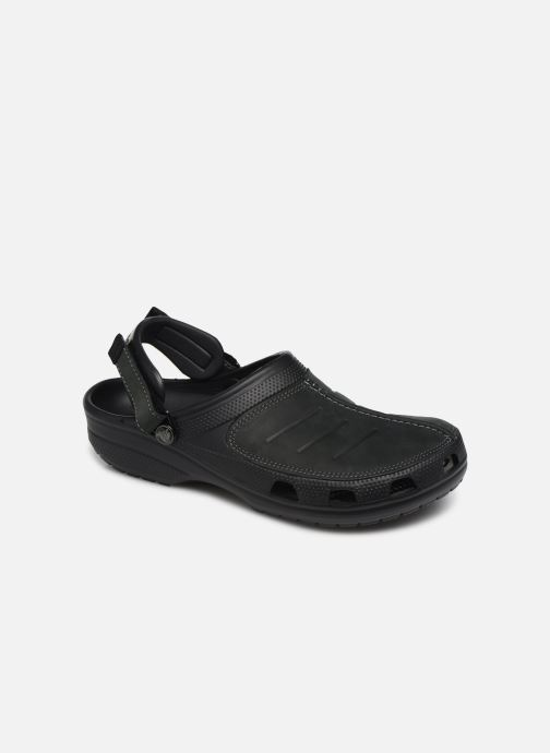 Sandals Crocs Yukon Mesa Clog M Black detailed view/ Pair view