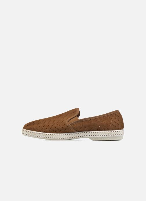 Loafers Rivieras Suntan Classic 30° Brown front view