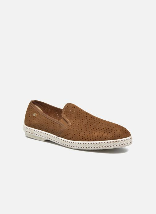 Loafers Rivieras Suntan Classic 30° Brown detailed view/ Pair view