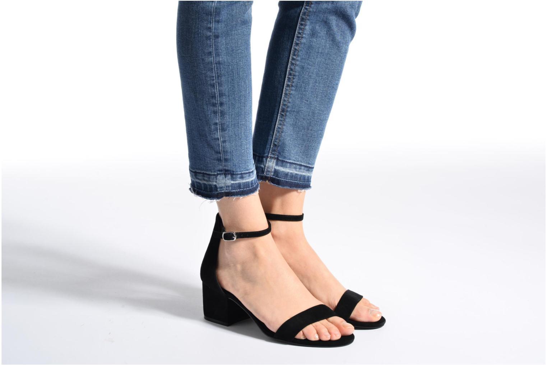 Sandales et nu-pieds Steve Madden Irenee Sandal Noir vue bas / vue portée sac
