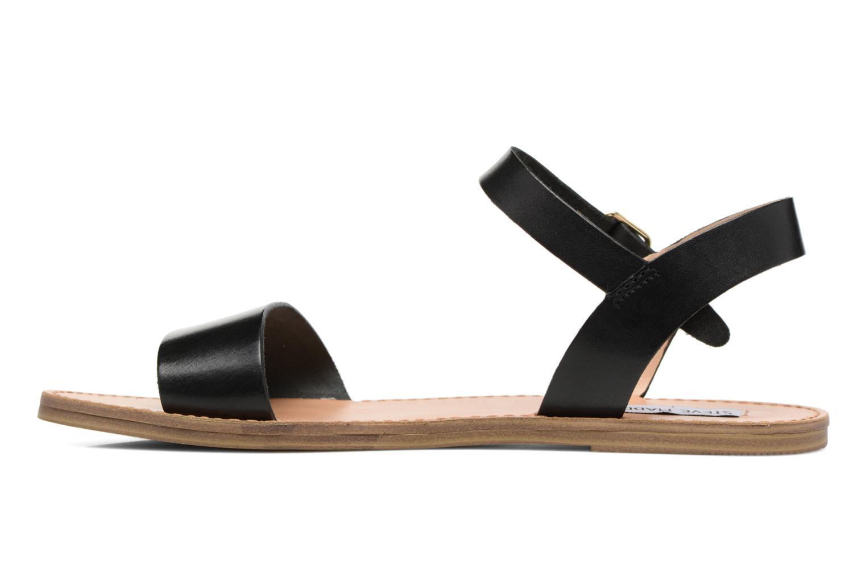 Sandales et nu-pieds Steve Madden Kondi Sandal Noir vue face