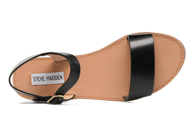 Sandales et nu-pieds Steve Madden Kondi Sandal Noir vue gauche