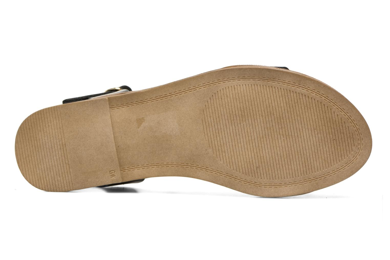 Sandales et nu-pieds Steve Madden Kondi Sandal Noir vue haut