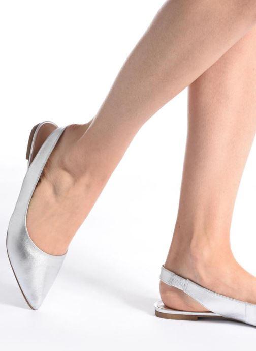 Steve Madden Villa Sandal (silber) - - - Ballerinas bei Más cómodo 8ce098