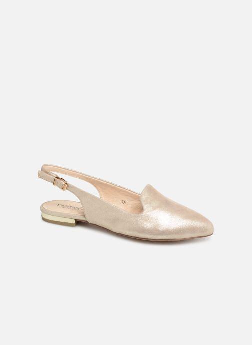Bailarinas Caprice Dana Oro y bronce vista de detalle / par