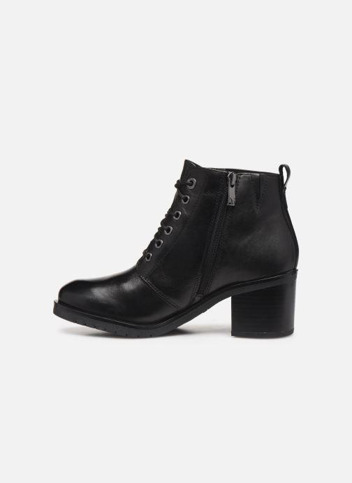 Zapatos de tacón Caprice Elena Negro vista de frente