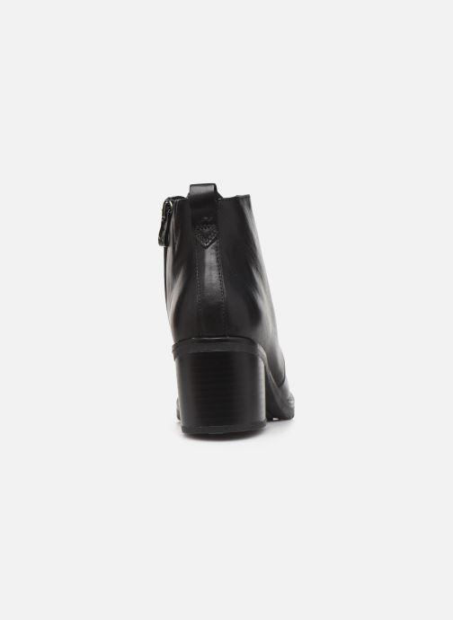 Zapatos de tacón Caprice Elena Negro vista lateral derecha