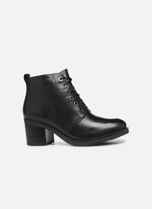Zapatos de tacón Caprice Elena Negro vistra trasera