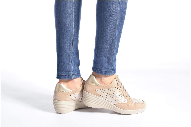 Sneakers Stonefly Ebony 22 Beige se forneden