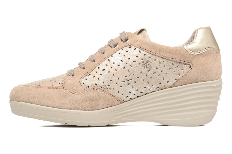 Sneakers Stonefly Ebony 22 Beige se forfra