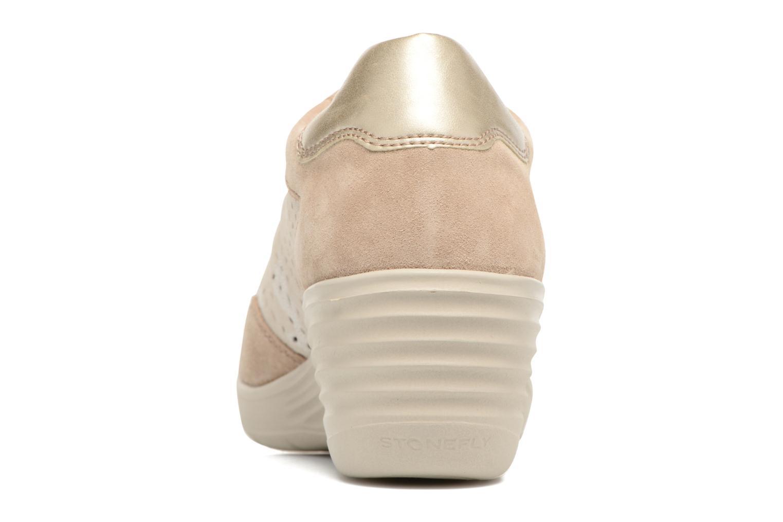 Sneakers Stonefly Ebony 22 Beige Se fra højre
