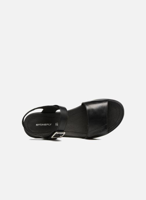 Sandales et nu-pieds Stonefly Aqua III 2 Noir vue gauche