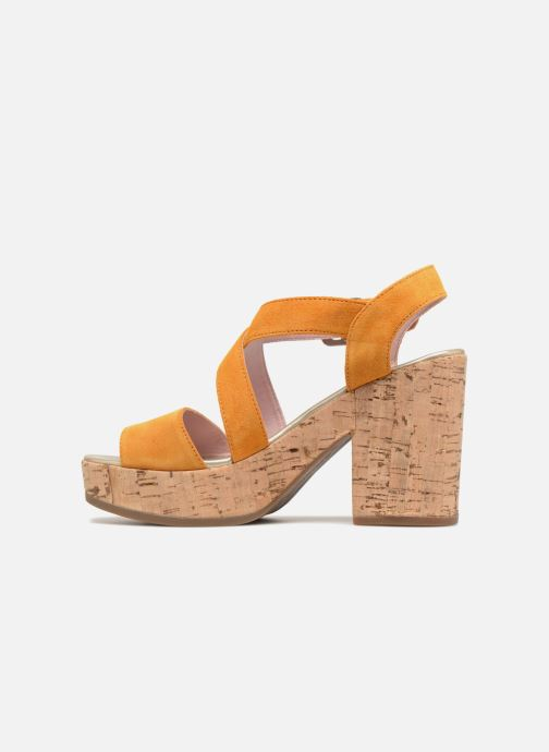 Sandales et nu-pieds Stonefly Carol 4 Jaune vue face