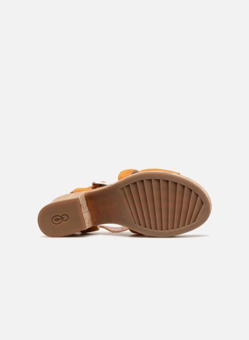 Sandales et nu-pieds Stonefly Carol 4 Jaune vue haut