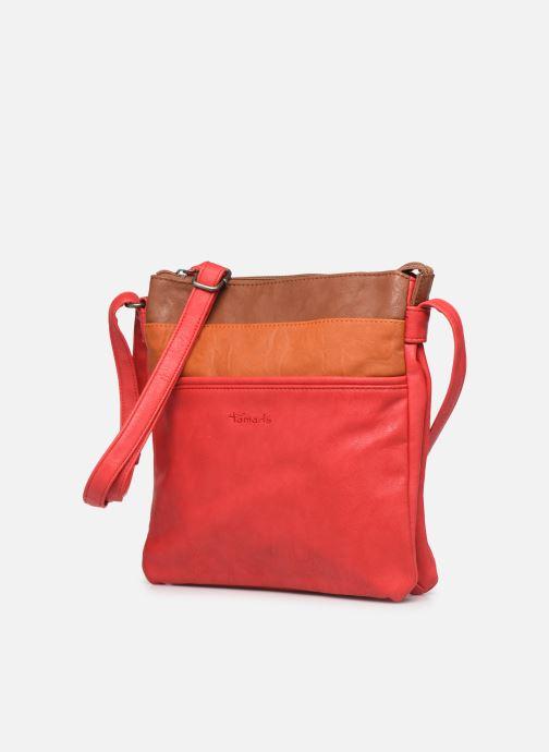 Sacs à main Tamaris Khema Crossbody bag Rouge vue portées chaussures