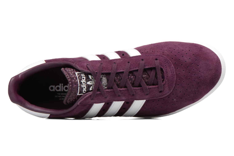 Sneaker Adidas Originals Adidas 350 weinrot ansicht von links