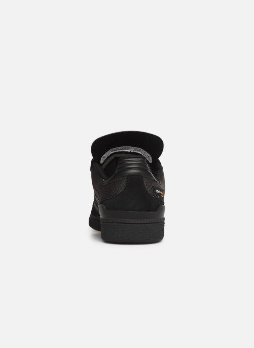 Baskets adidas originals Busenitz Noir vue droite