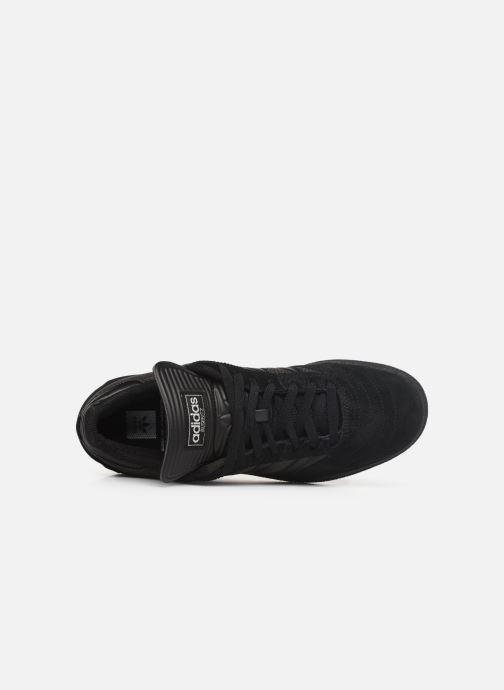 Sneaker adidas originals Busenitz schwarz ansicht von links