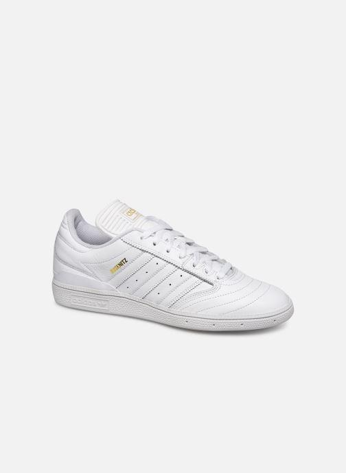 Sneakers adidas originals Busenitz Hvid detaljeret billede af skoene