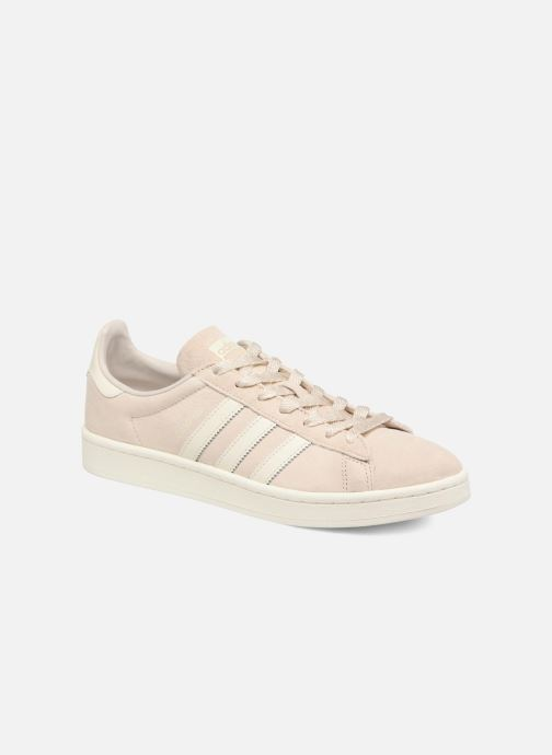 competitive price 3ec1c 99423 Baskets adidas originals Campus Beige vue détailpaire