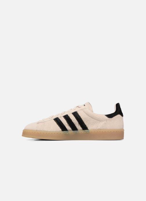 Sneakers adidas originals Campus Nero immagine frontale