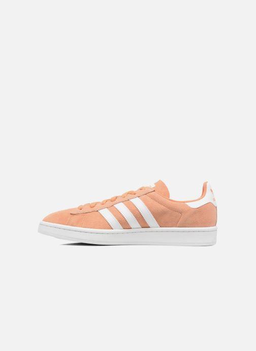 Sneaker adidas originals Campus orange ansicht von vorne