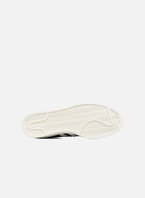 Sneakers adidas originals Campus Nero immagine dall'alto