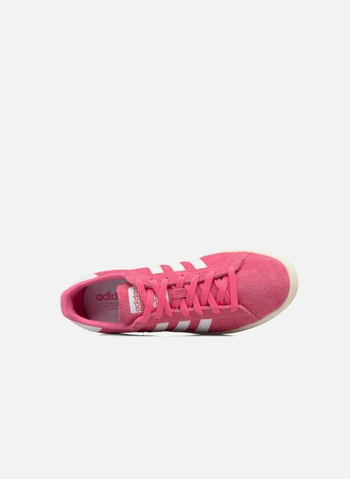 Trainers adidas originals Campus Pink view from the left